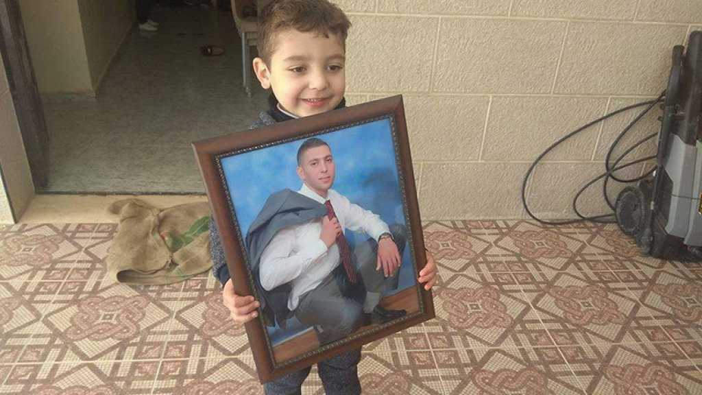 Le Martyr Saleh Barghouthi ... l'ennemi israélien l'a privé de son père puis l'a assassiné