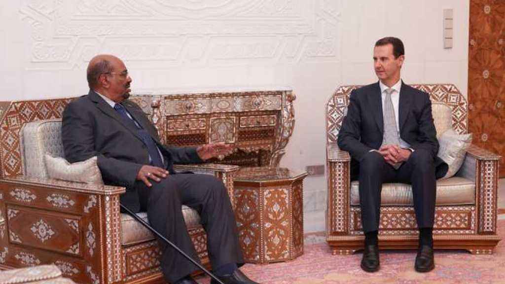 Le président soudanais en visite en Syrie