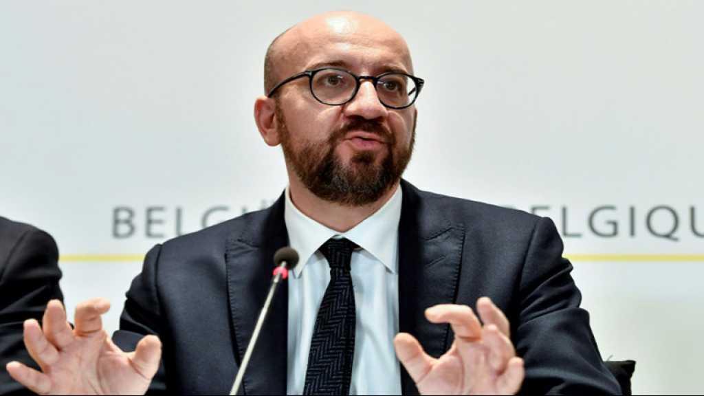 Belgique: le Premier ministre Charles Michel annonce sa démission