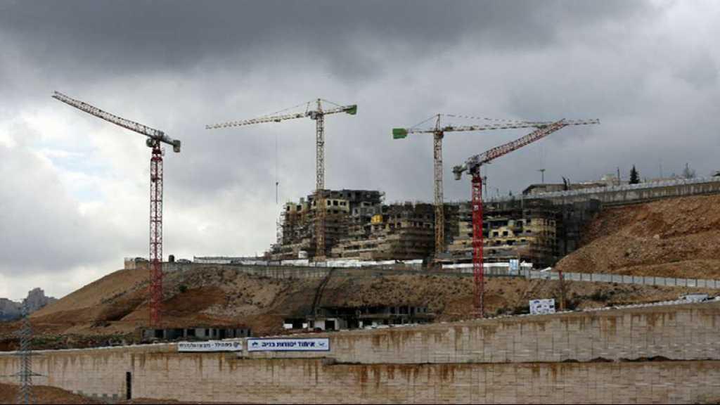 «Israël» approuve des plans de construction d'environ 2.200 logements dans des colonies