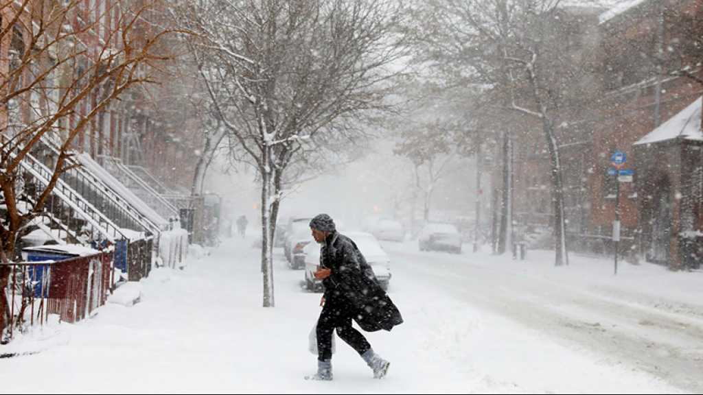Les Etats-Unis balayés par une tempête de neige et de fortes pluies