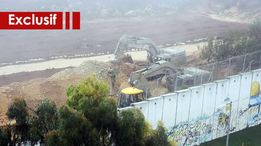 L'ennemi qui a lancé des menaces pendant 20 jours… est resté caché derrière le mur