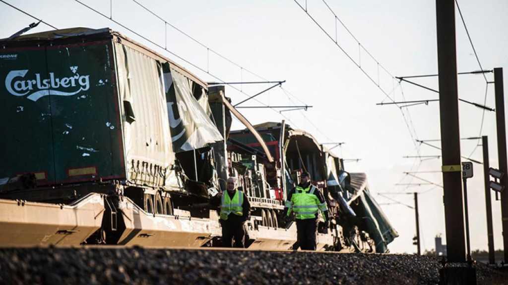 Danemark : au moins six morts lors d'une collision entre deux trains