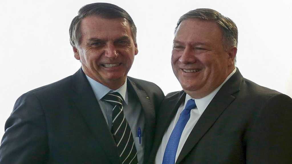 Des élus démocrates critiquent Pompeo pour ses louanges de Bolsonaro