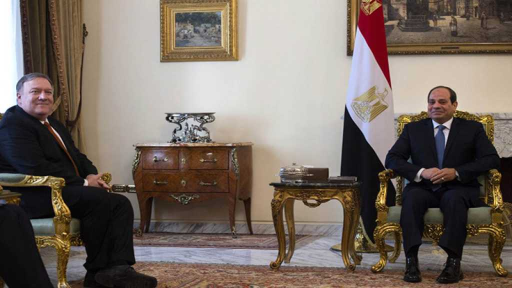 Egypte : Mike Pompeo rencontre le président Sissi