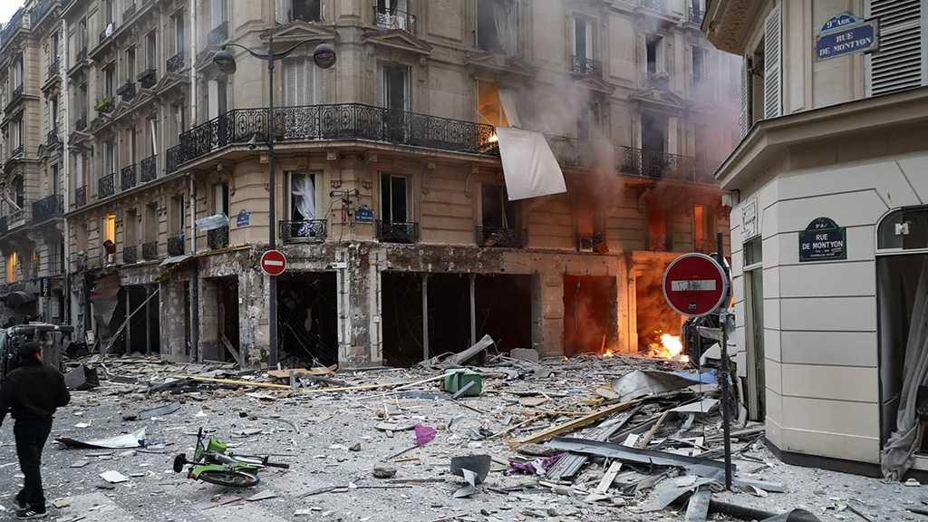Paris : forte explosion rue de Trévise, la piste d'une fuite de gaz privilégiée