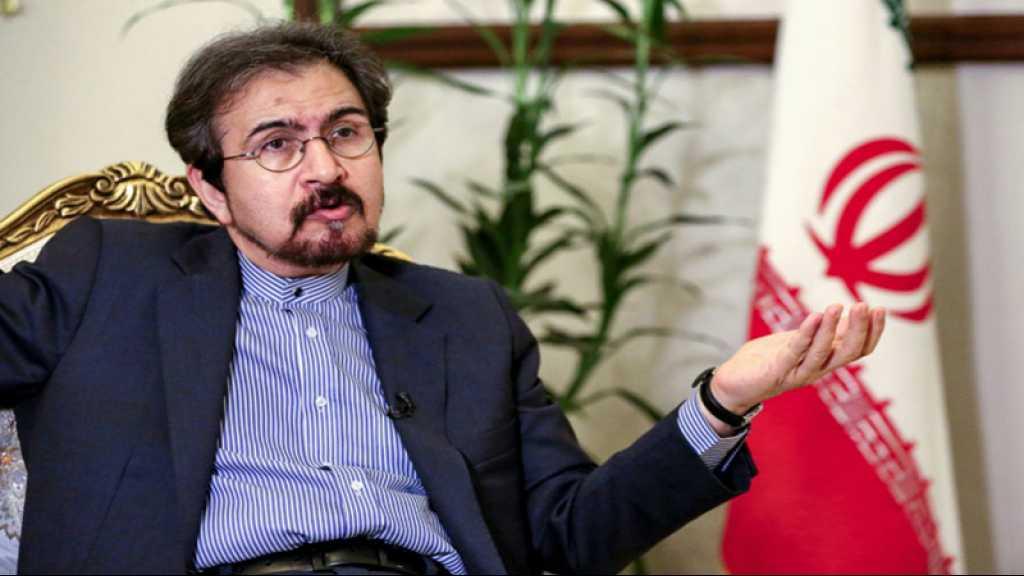 Washington est «frappé d'hystérie» après le retrait de l'accord nucléaire, dit Ghassemi