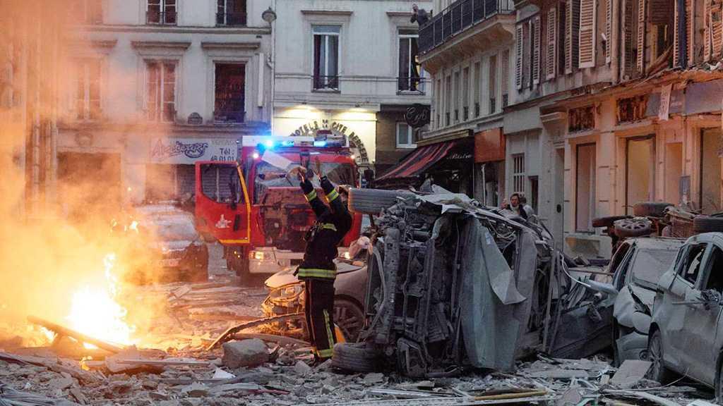 Paris : violente explosion rue de Trévise, 2 pompiers tués