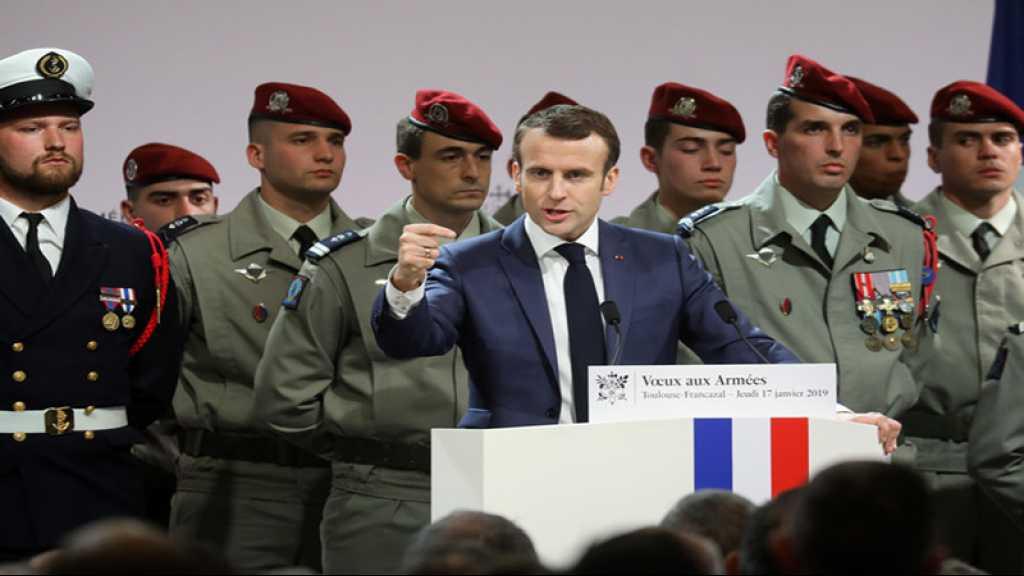 La France restera «militairement engagée au Levant» en 2019, dit Macron