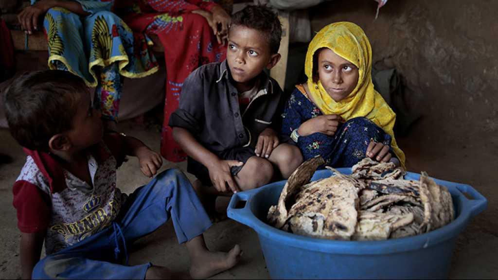Yémen: le nombre d'enfants souffrant de malnutrition a presque doublé en trois ans