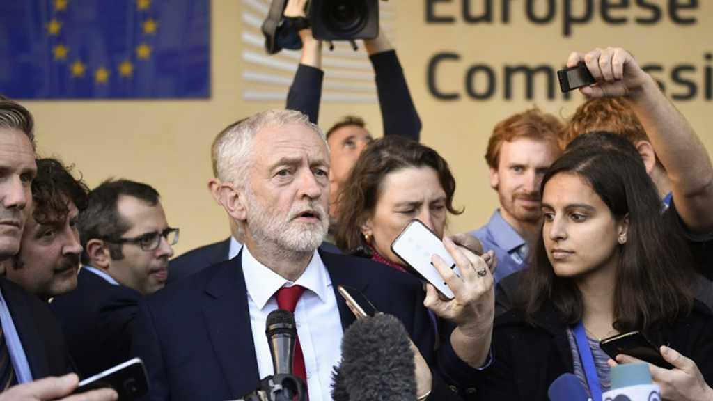Brexit : le Labour propose de débattre d'un nouveau Référendum