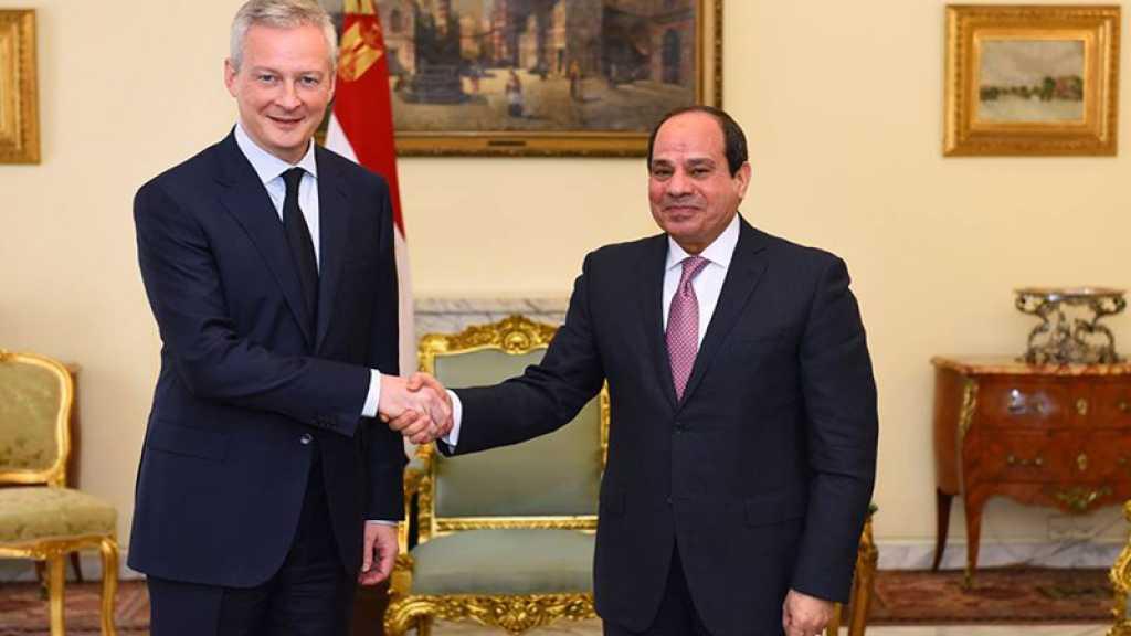 Egypte : HRW dénonce les propos de Le Maire sur Sissi