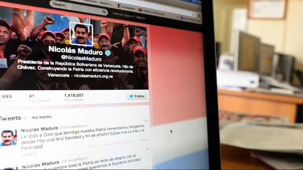 Le compte Twitter de Maduro reste certifié, mais pas ceux de Facebook et Instagram