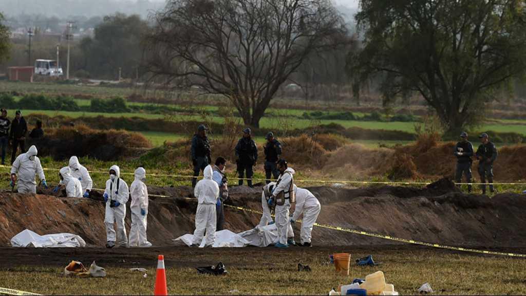 Explosion d'un oléoduc au Mexique: le bilan porté à 107 morts