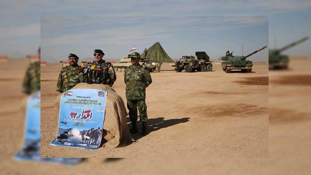 Iran : grandes manœuvres de l'armée de Terre