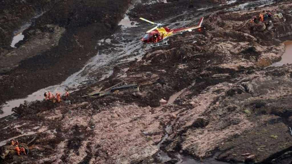 Brésil : neuf morts, environ 300 disparus après la rupture d'un barrage minier