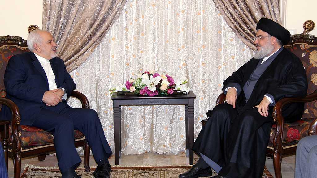 Zarif chez sayed Nasrallah: L'Iran prête à apporter toute forme d'aide au liban