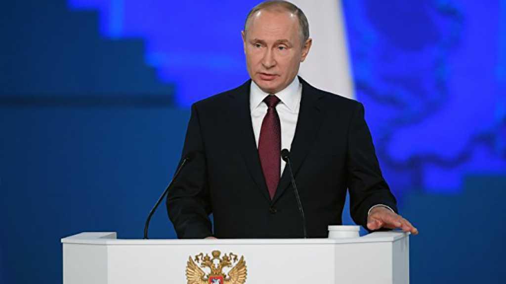 Poutine : la Russie est un pays pacifique, mais renforcera son potentiel défensif
