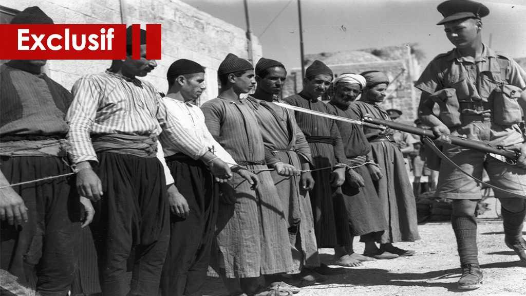L'histoire du terrorisme britannique en Palestine