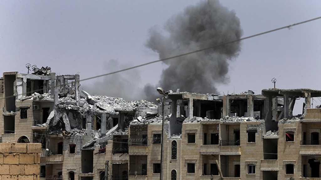Près de 50 morts dans une frappe de la coalition US en Syrie, selon la télévision d'État