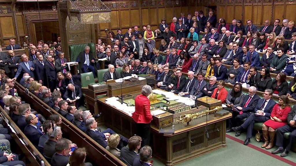 L'accord de Brexit rejeté aux Communes, nouvel échec pour Theresa May
