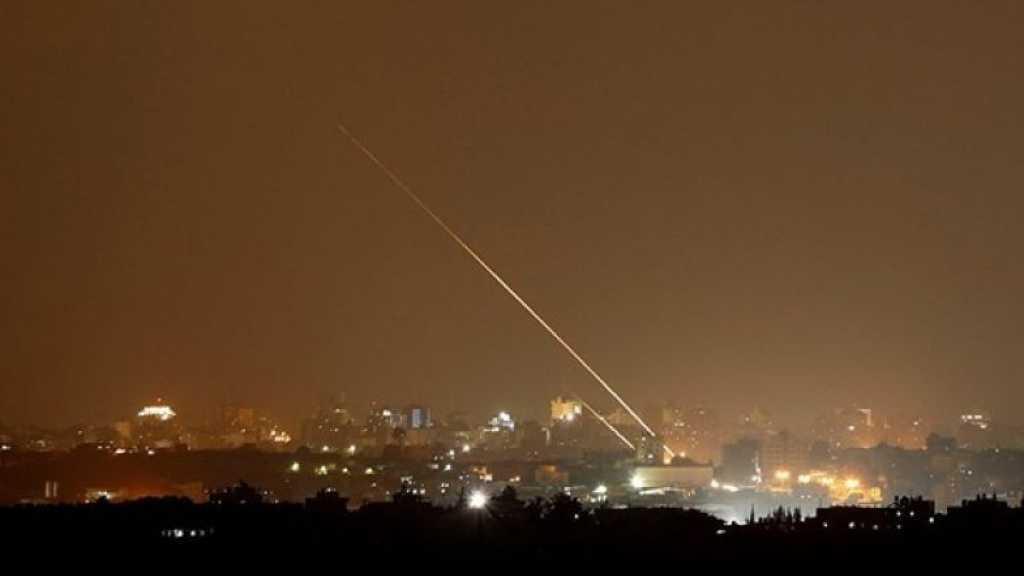 «Tel-Aviv» visé par deux roquettes, «Israël» répond par des raids sur Gaza