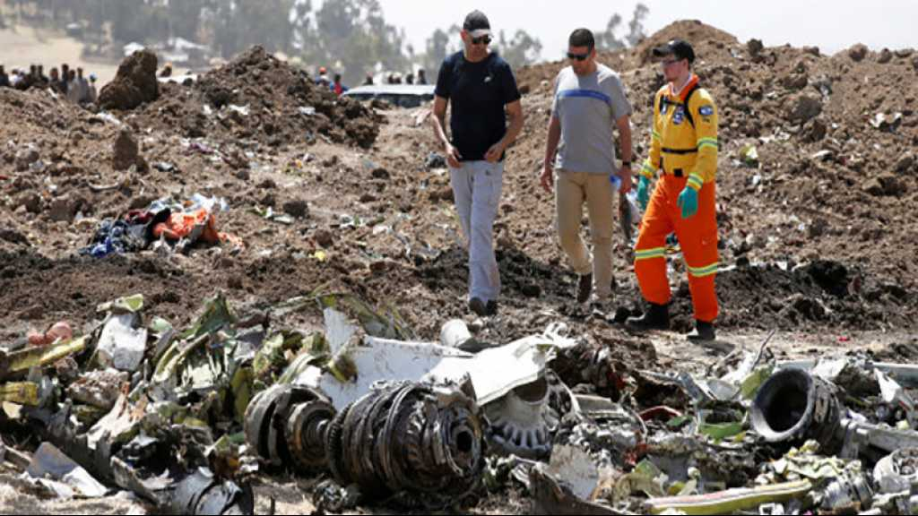 Ethiopie: les données des boîtes noires montrent des «similarités claires» avec le crash de Lion Air