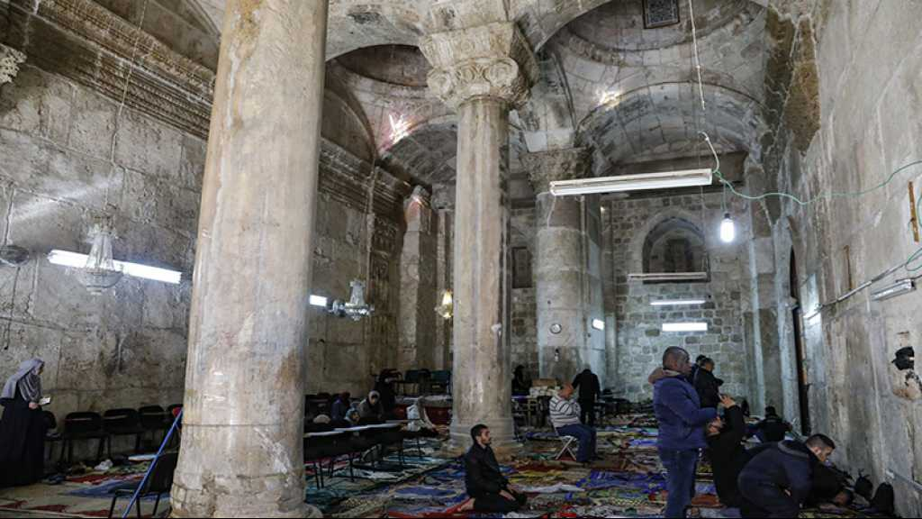 «Israël» ferme une mosquée d'al-Qods occupée