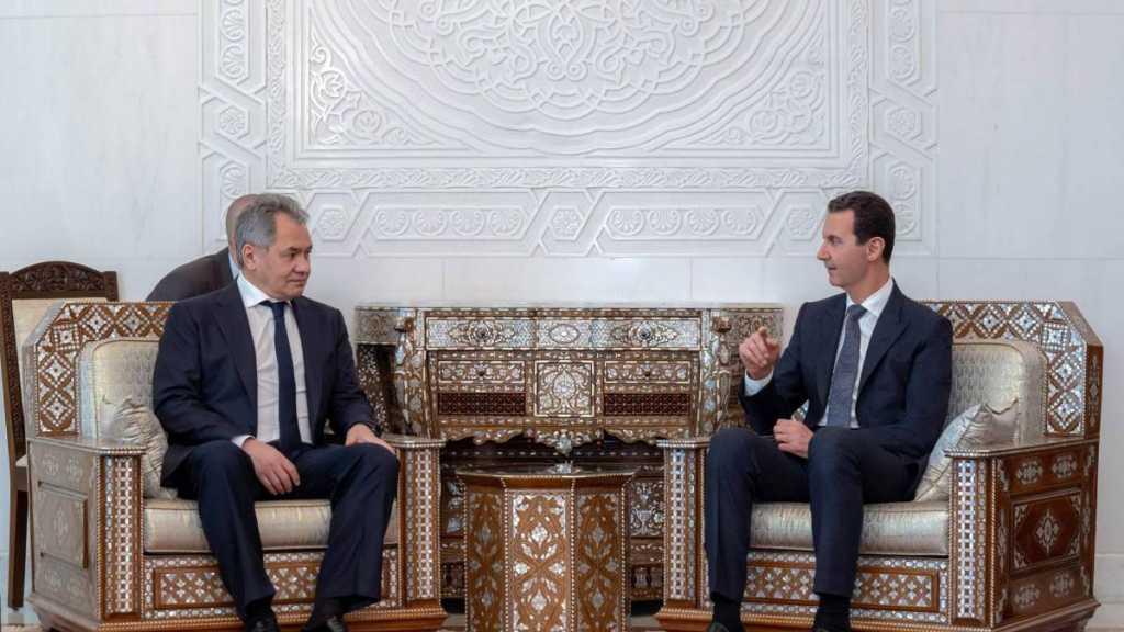 Le président syrien rencontre le ministre de la Défense russe