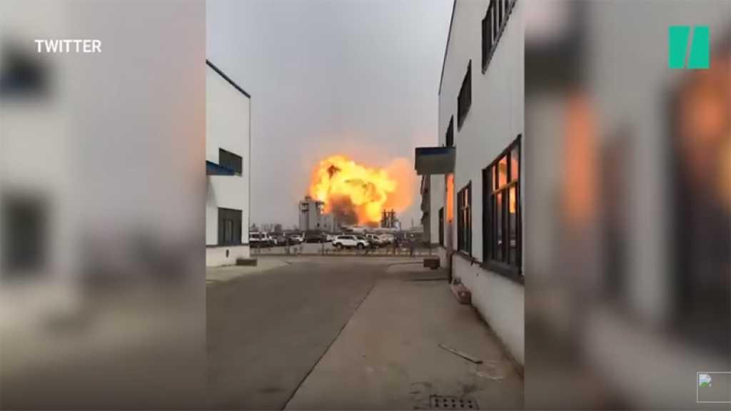 Une forte explosion dans une usine chimique fait 6 morts et 30 blessés en Chine