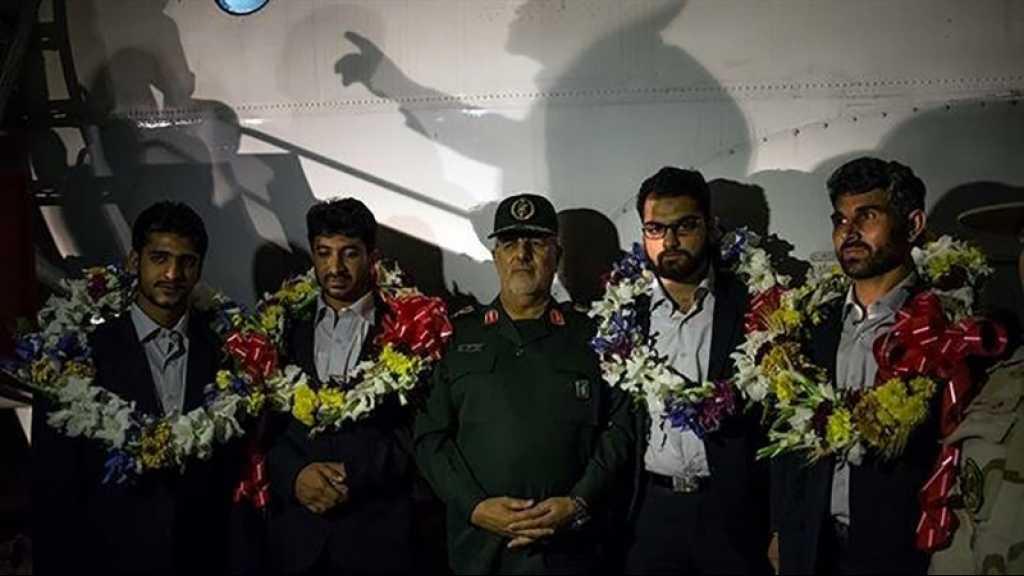 Retour en Iran de 4 soldats détenus au Pakistan par des extrémistes