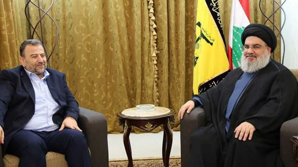 Une délégation du Hamas chez sayed Nasrallah