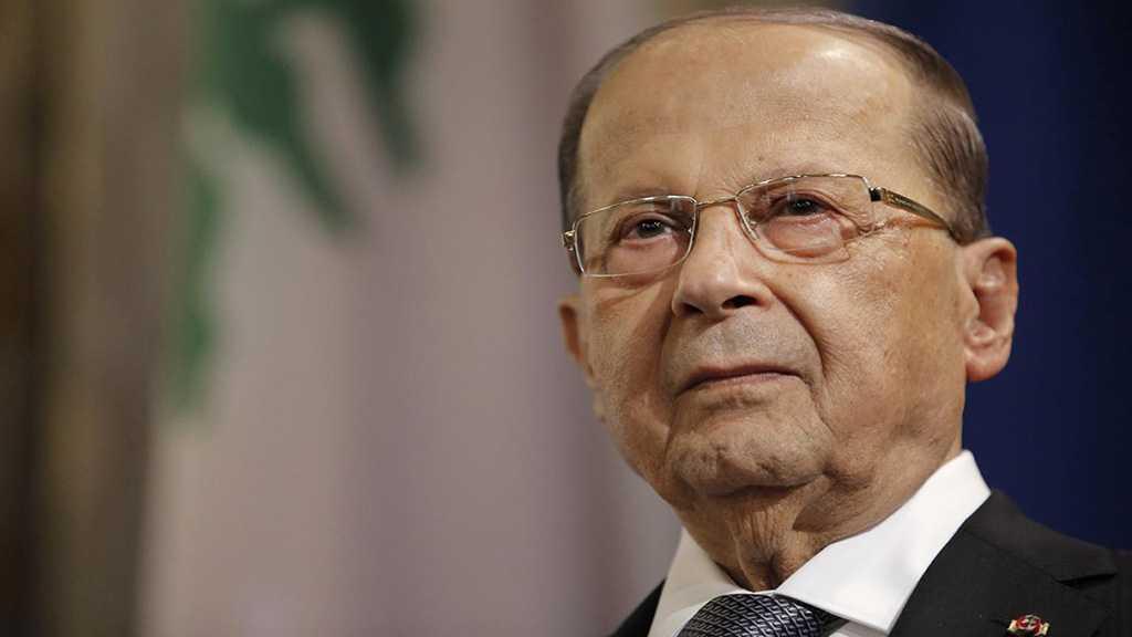 Aoun : La décision de Trump sur le Golan, un jour noir et un acte arbitraire