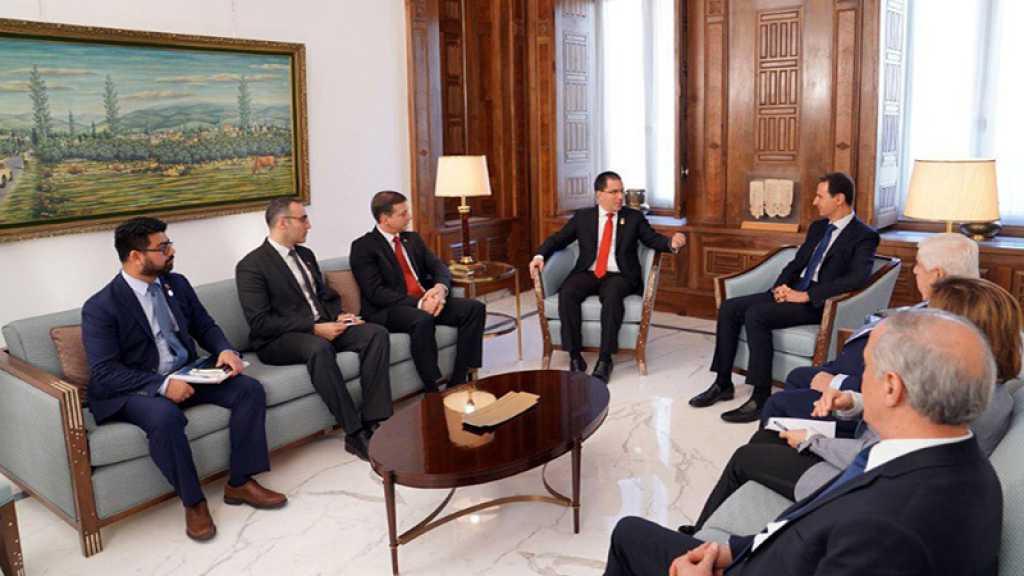 Assad : La situation actuelle au Venezuela ressemble à ce qui s'est passé en Syrie