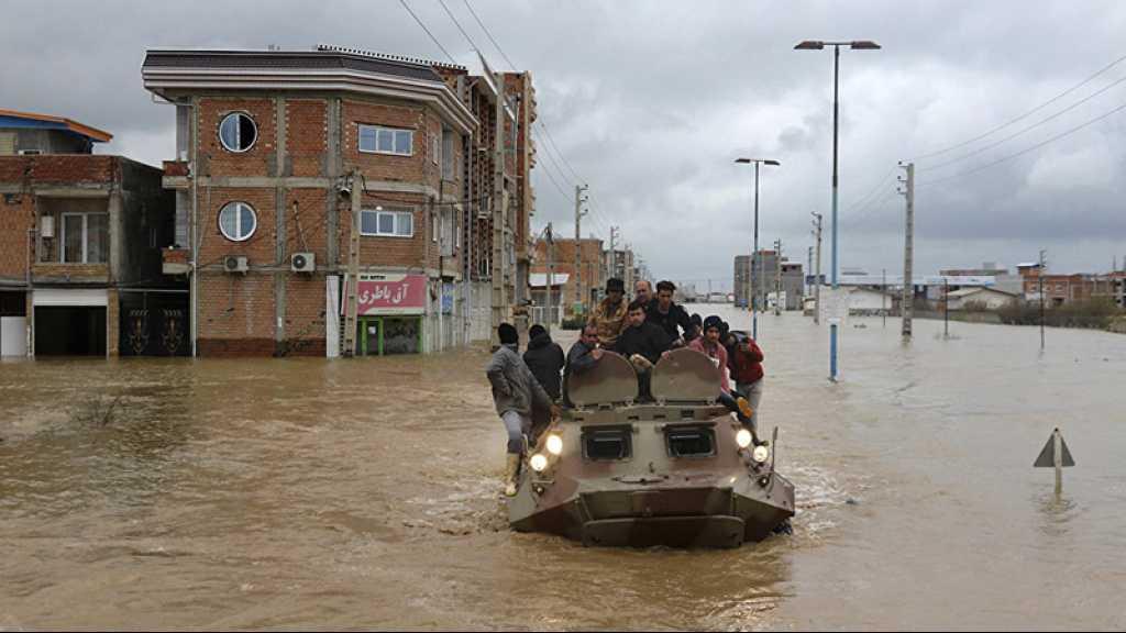 Inondations en Iran: nouvelles évacuations, bilan de 70 morts