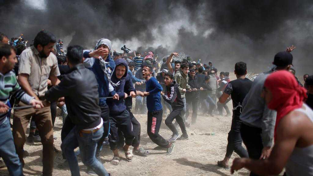Gaza : plus de 10000 manifestants, 83 Palestiniens blessés lors d'affrontements