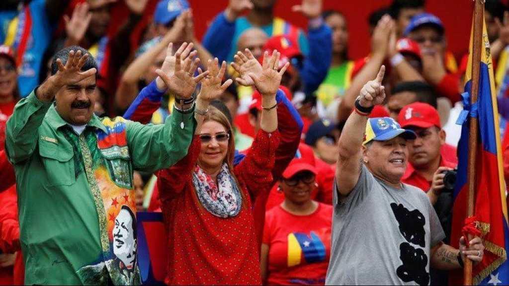 Maradona risque une sanction pour son soutien à Nicolas Maduro
