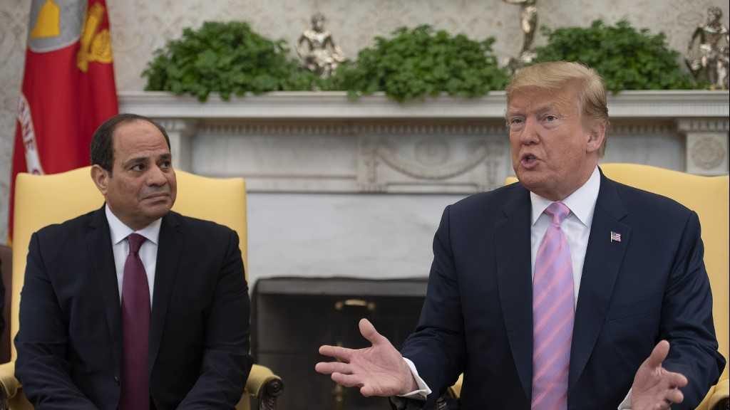 Négligeant les préoccupations relatives aux droits de l'homme, Trump loue le «très bon travail» du Sissi
