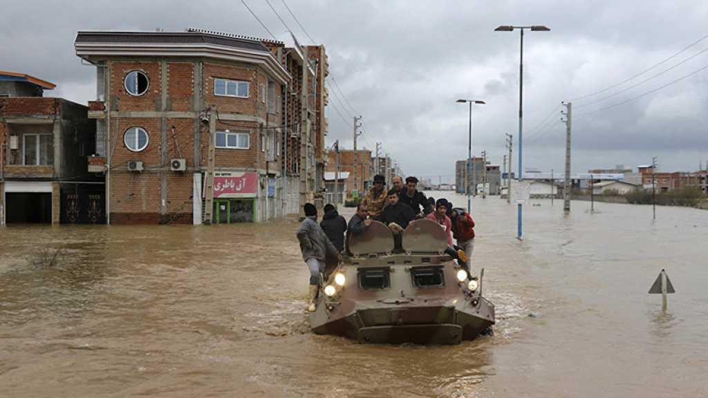 Inondations en Iran : ordre d'évacuation de plus de 60.000 personnes