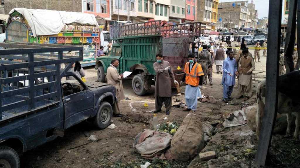 Pakistan : 16 martyrs dans l'explosion d'une bombe dans le sud-ouest