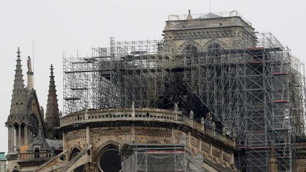 Notre-Dame: Piste accidentelle privilégiée, la sécurisation à l'intérieur durerait environ 48h.