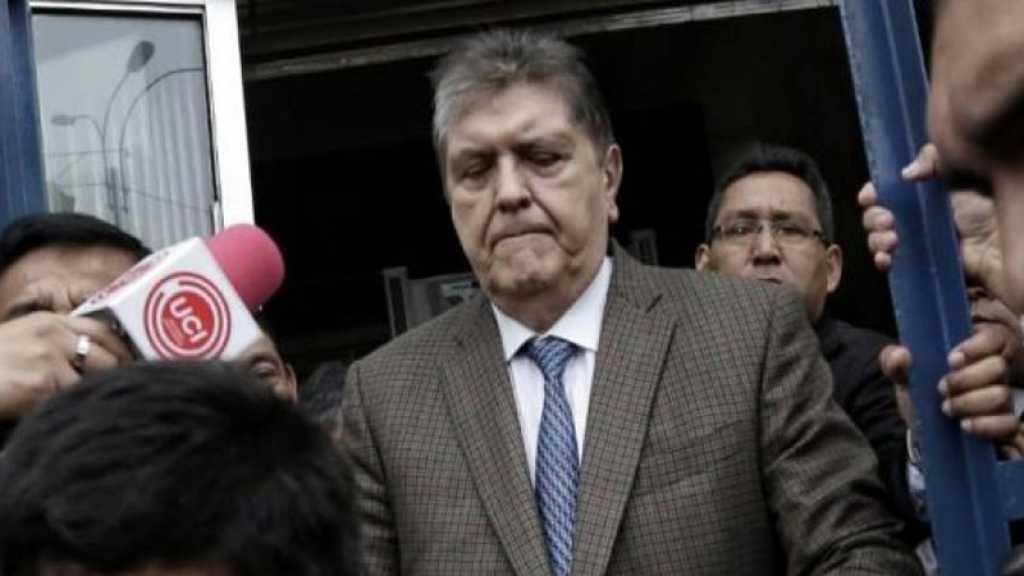 Accusé de corruption, l'ex-président du Pérou Alan Garcia se suicide lors de son arrestation
