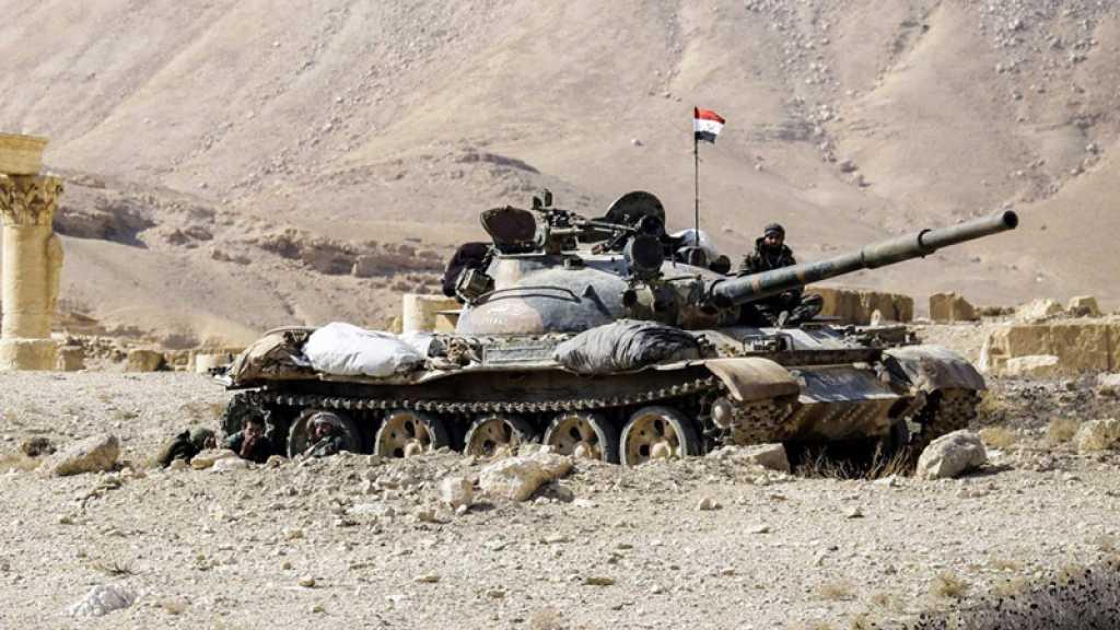 Une carte de «Jaysh al-Islam» permet à la police militaire russe de découvrir un char