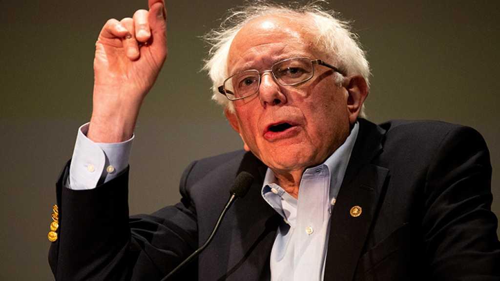 USA : Sanders accuse le gouvernement de Netanyahou d'être «raciste»