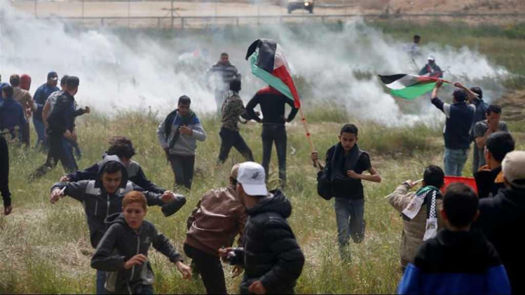 Gaza: 60 Palestiniens blessés lors de heurts à la frontière avec «Israël»