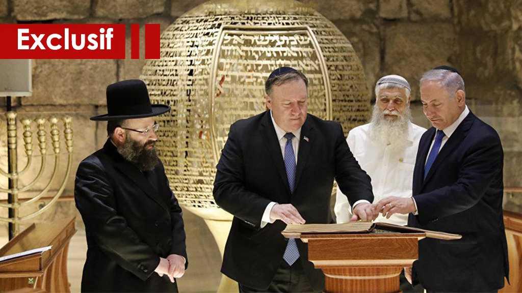 «Deal du siècle» : Le marchandage religieux américano-sioniste