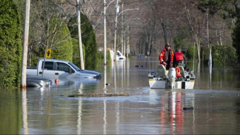 Inondations au Canada: 10.000 personnes évacuées, décrue lente en vue