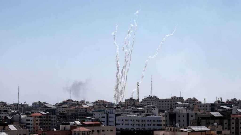 """En riposte aux raids sur Gaza, la Résistance tire une pluie de roquettes sur """"Israël"""""""
