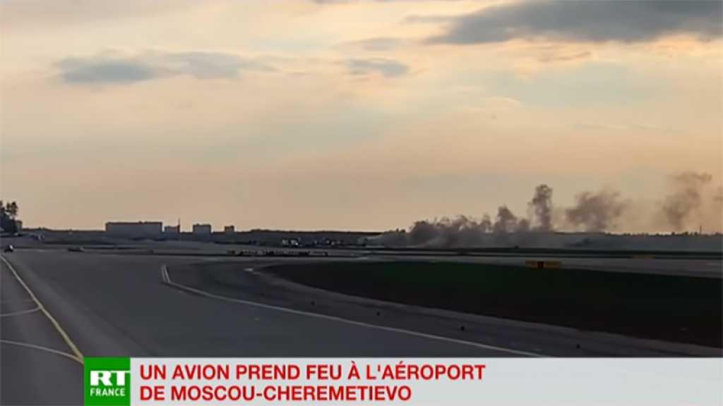 Incendie d'un Soukhoï de ligne : 37 survivants sur les 78 personnes à bord