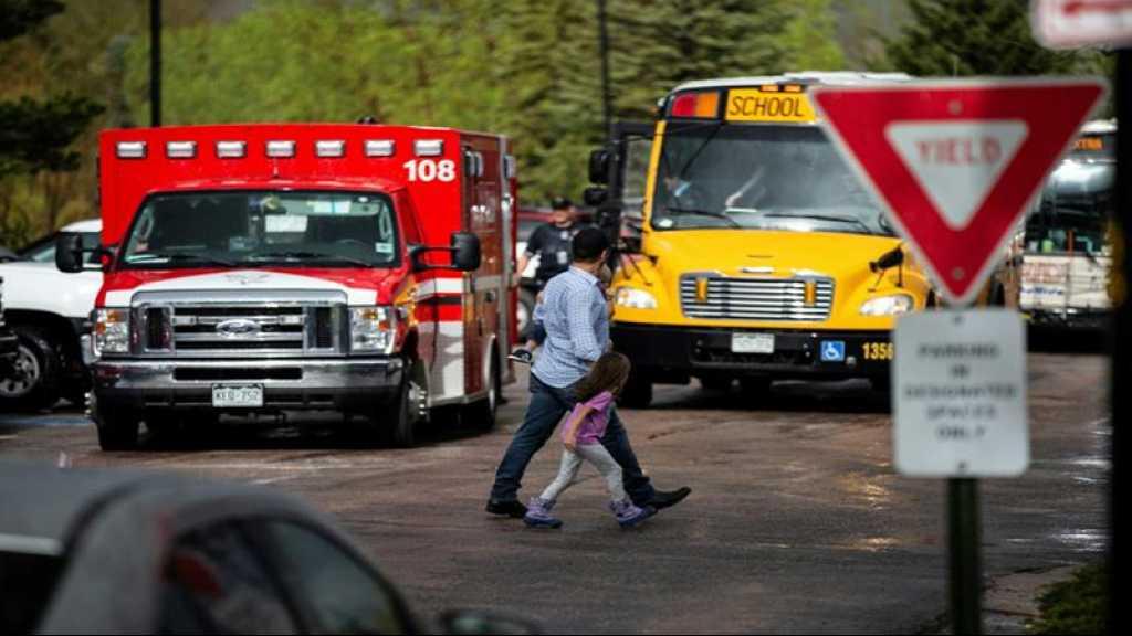 Fusillade dans un lycée du Colorado: un mort, 2 suspects arrêtés